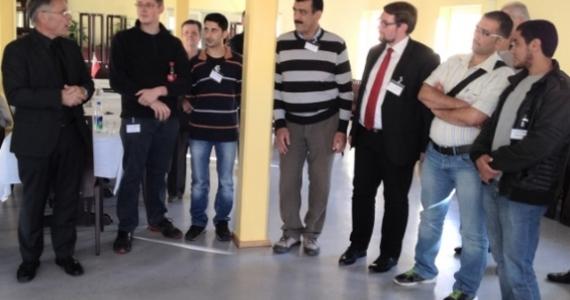 Begrüßung durch Präsident Grieger